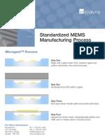 MEMS Manufacturing Process - Micragem