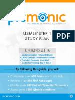 Picmonic Step 1 Study Plan V2