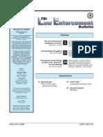 FBI Law Enforcement Bulletin - June05leb