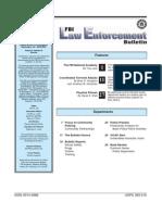 FBI Law Enforcement Bulletin - May05leb