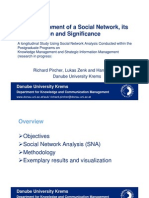 The Development of a Social Network, its Interpretation and Significance ICKM 2007