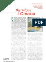 Fatigue thermique à Civaux