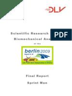 1 - Biomechanics Report WC Berlin 2009 Sprint Men
