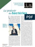 Le pouvoir des bactéries
