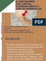 FACTORES QUE INDICAN EL CRECIMIENTO ECONOMICO,