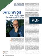 Archivos une collection latino-américaine