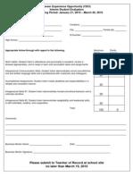 Interim Evaluation 2009