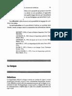 2. Linguistique Générale - Lecture - Langage, Langue Et Parole (1)