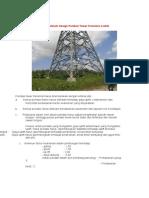 Kriteria Umum Design Pondasi Tower Transmisi Listrik