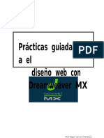 Diseño Web Dreamweaver MX