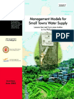 Management Models for Smalltowns Philippines