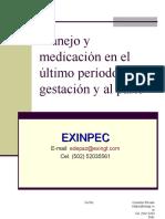 Manejo y medicación