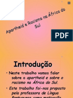Apartheid e Racismo na África do Sul