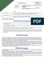 GUIA DIDÁCTICA- Estimulos y Respuesta y Recptotres Sensoriales