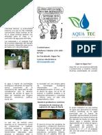 Alternativas para el uso eficiente del agua