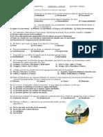 Tercer Examen Bimestral Ciencias II