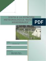 Informe - Estación Meteorológica