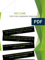 Tips for Learning English