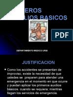 Primeros Auxilios Basicos Pcbt 222