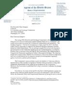 Republican Letter to the S.E.C. About Goldman Case