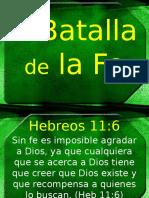 Batalla de Fe