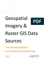 Geospatial Imagery Raster GIS Data Sources