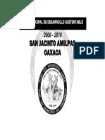 Plan San Jacinto Amilpas Oaxaca