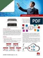 HUAWEI SVN5800 Secure Access Gateway Brochure