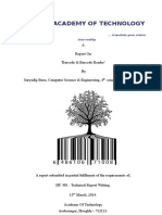 Technical report Barcode