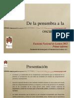 Encuesta Nacional de Lectura en México Fundacion Mexicana Para El Fomento de La Lectura 2012