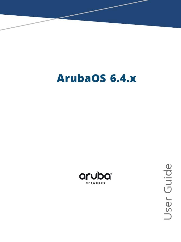 ArubaOS 6 4 x User Guide | Ieee 802 11 | Wireless Lan
