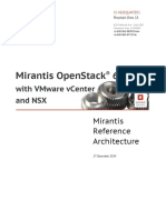 VMware NSX Mirantis 6.0 Ref Arch