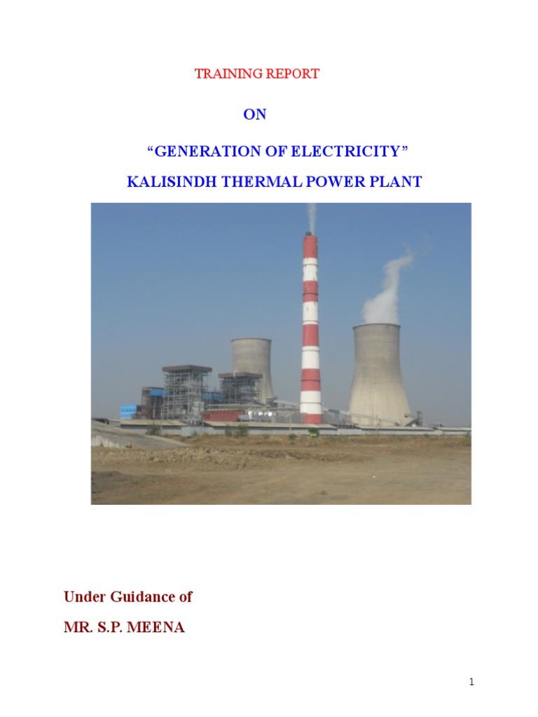 Kalisindh Thermal Power plant | Boiler | Ion Exchange