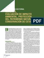 Evaluación del Impacto Ambiental,