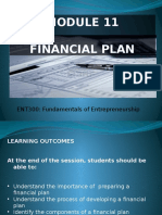 Module 11 Financial Plan
