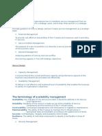 ITIL Service Objectives
