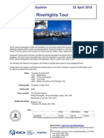 10.04.22 RICS Matrics Derby Shire - River Lights Tour