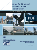 Engineering for Structural Stability in Bridge Construction Publication No. FHWA-NHI-15-044