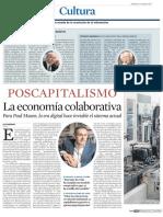Postcapitalismo. La Economía Colaborativa