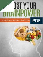 Boost Your Brainpower A Simplified Approach to the Brain Maker Diet - Jim Stevens.pdf