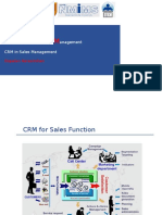 Session on CRM in Sales