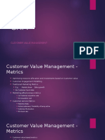 CRM Customer Value Management and ROI