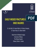 4. Fractures in Acute Knee Injuries