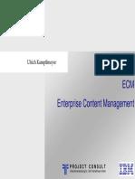 [DE|EN|FR] ECM Electronic Content Management - IBM Whitepaper | Dr. Ulrich Kampffmeyer | Hamburg