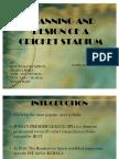 Cricket-StadiumDesign of a Cricket Stadium