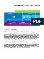Recent Improvements on ASP.Net 4.6 Version