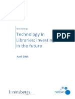 Technology in Libraries Investing in the Future Whitepaper