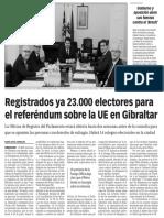 160308 La Verdad CG- Registrados Ya 23.000 Electores Para El Referéndum Sobre La UE en Gibraltar p.7