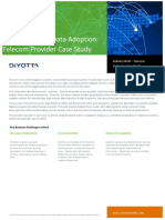 Telecommunication Case Study | Diyotta