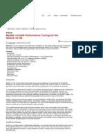 MySQL InnoDB Performance Tuning for the Solaris 10 OS